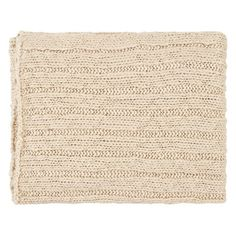 Surya Timothy Beige Throw - 50 x 60 $59.99