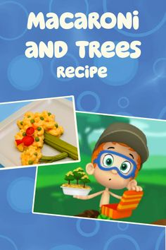 Cook this playful mac and cheese recipe for your Bubble Guppies fan this spring!