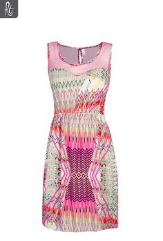 Just needs the sweetheart neckline :)  Ladies Tribal Waisted Dress | Sun Dresses