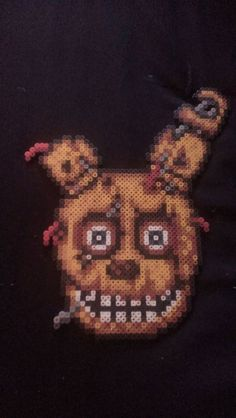 Five Nights at Freddy's FNAF Springtrap Pixel Art by MelParadise