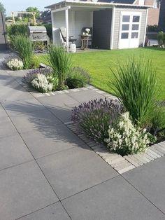 Modern Landscape Design Front Yard Entrance _ Landscape Yard Design - New ideas Small Front Yard Landscaping, Modern Landscaping, Backyard Landscaping, Landscaping Design, Backyard Patio, Backyard Ideas, Small Gardens, Outdoor Gardens, Front Gardens