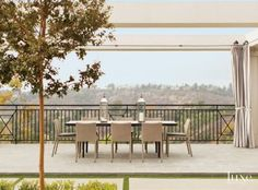 Contemporary Outdoor Dining Pavilion
