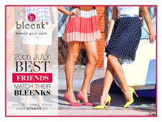 Friendship never goes out of style, especially if it has a #Bleenk special touch! <3  Buy yours now with 30%OFF