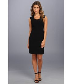 Marc New York by Andrew Marc Marc New York by Andrew Marc  Sleeveless Funnel Neck Dress MD4X5272 Black Womens Dress for 57.99 at Im in!