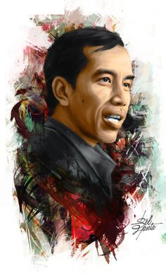 The New President Indonesia Republic JOKOWI digital painting, art Indonesian Art, Background Hd Wallpaper, Mr President, Joko, Power To The People, Calligraphy Art, Illustrations And Posters, Painting Art, Anonymous