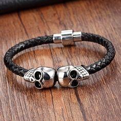 Femmes Hommes affiner Bracelet en Acier Inoxydable Collier Rétro Bijoux Set Cadeau Hot