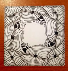 Zentangle Verve by Tanglist Michele Beauchamp