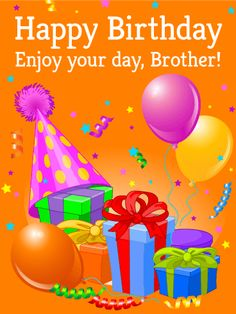 For my special brother happy birthday card do you have a special happy birthday card for brother voltagebd Gallery