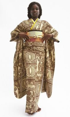 ♥african kimono by serge mouangue