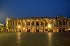 'Anfiteatro Romano'. Arena de Verona. # Verona, Itália.                                                                                                                                                                                 Mais