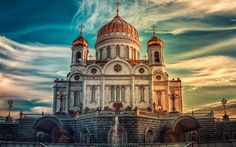 4friendz Entertainment: Cathedral Of Christ The Savior, Russia, Moscow