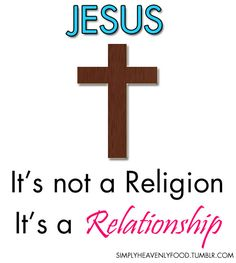 relationship with jesus christ answers