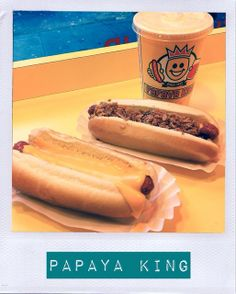 Papaya King: Dove mangiare a New York - Where to eat in New York City #lapatataingiacchetta