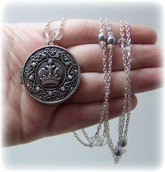 Medieval Necklace  Renaissance Jewelry  by TreasuresForAQueen, $35.00
