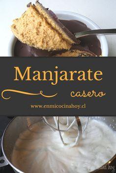 Cocina – Recetas y Consejos Chilean Desserts, Chilean Recipes, Chilean Food, Sweets Recipes, Cooking Recipes, Nutella, My Dessert, Diy Food, Sweet Treats