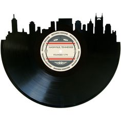 Nashville Skyline Records Redone Label Vinyl by RecordsRedone