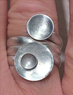 Ring silver handcrafted
