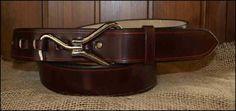 Cinturones de Cuero con Enganche Limpiacascos | Decuero Leather