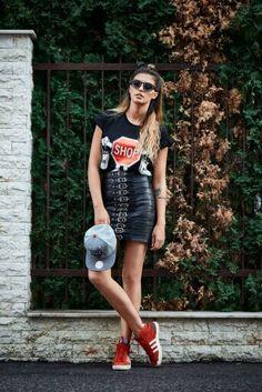 Antonia Iacobescu Shirt Dress, T Shirt, Hipster, Celebrities, Highlights, Dresses, Style, Fashion, Supreme T Shirt