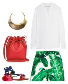 """""""Senza titolo #1136"""" by granatina ❤ liked on Polyvore featuring Dolce&Gabbana, MICHAEL Michael Kors and Mansur Gavriel"""
