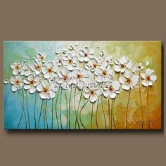Discover thousands of images about Beautiful Oil Paintings For Rooms In Contemporary Designs . - Gabriela - - Beautiful Oil Paintings For Rooms In Contemporary Designs . Acrylic Painting Flowers, Acrylic Wall Art, Abstract Flowers, Painting Abstract, Texture Painting On Canvas, Textured Canvas Art, Paint Texture, Colorful Paintings, Flower Paintings