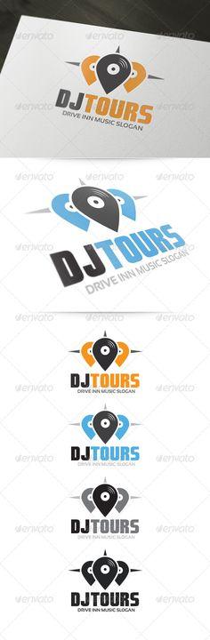 DJ Tours Logo