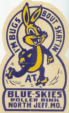 Vintage Missouri skate label by Vintage Roadside, via Flickr