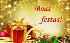 Desejo de Boas Festas e um feliz 2016!!!