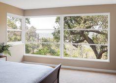 Wonderful windows with a beautiful view.