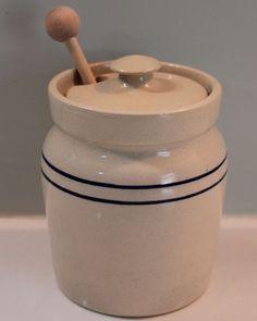Martinez Pottery Honey Pot Farmhouse Style | eBay