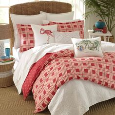 Nine Palms Sunrise Duvet Cover Set