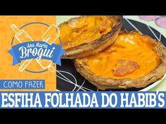 COMO FAZER ESFIHA DE QUEIJO DO HABIB'S   Ana Maria Brogui #2 - YouTube