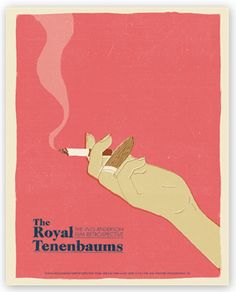 Wes Anderson Posters by J. Chris Schwartz at Coroflot.com