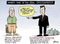 Social Security is NOT an entitlement - it's [moslty] earned!
