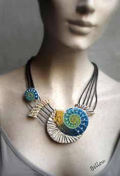 Polymer Clay Crafts, Necklace Types, French, Jewelry, Design, Ceramic Jewelry, Polymer Clay, Clay, Jewerly