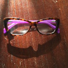 40c3b9b082a3b4 🎉HP🎉 Just Cavalli Eyeglasses Just Cavalli women s eyeglasses in tortoise  shell with purple arms
