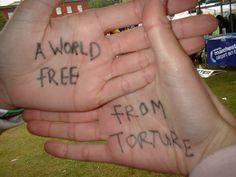 A message of solidarity to survivors of torture from a Freedom from Torture supporter in Manchester