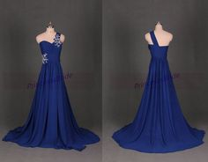 Hey, I found this really awesome Etsy listing at https://www.etsy.com/listing/191971743/2015-long-royal-blue-chiffon-bridesmaid