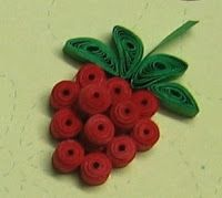 quilling fruits - Google Search