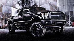 Ford F-250 Black Ops Edition with Additional Parts & Accessories. http://drivetuscany.com/black-ops/