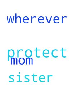 Lord, I ask you to protect my mom and my sister wherever - Lord, I ask you to protect my mom and my sister wherever they are.  Posted at: https://prayerrequest.com/t/EU4 #pray #prayer #request #prayerrequest