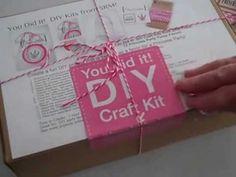 SRM - Princess Purses DIY Kit Video