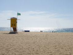 Rettungsschwimmerturm am Abend http://www.jandia-fuerteventura.de/ #Fuerteventura #Jandia