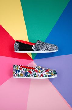 TOMS is partnering with the Keith Haring Foundation to celebrate Keith Haring's legacy in creating art for all to enjoy.