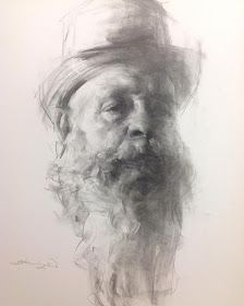 Zhaoming Wu, john a carrasco, a great model. Life drawing vine charcoal on Bristol paper. Drawing Heads, Life Drawing, Drawing Faces, Alex Colville, Andrew Wyeth, Armin, Charcoal Drawing Tutorial, Charcoal Drawings, Akira