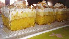 Greek Sweets, Greek Desserts, Greek Recipes, Food For Thought, Vanilla Cake, Deserts, Pudding, Cakes, Kuchen