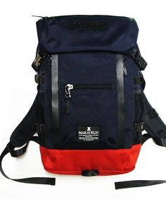 WHO'S WHO gallery MEN'S(フーズフーギャラリー メンズ)の【MAKAVELIC】CHASE DOUBLE LINE BACK PACK(バックパック/リュック) 詳細画像