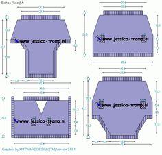 Bichon Frise pattern  hondenkleding breien