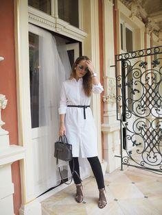 Ejvi Freedom: WHITE SHIRT DRESS