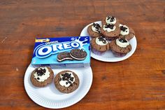 Atemlos: NACHGEBACKEN - #Oreo #Cupcakes auf http://www.atemlosblog.de/2013/05/67-sweet-recipe-oreo-cupcakes.html